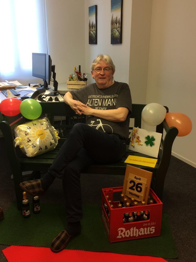 Nach 46 Jahren heißt es: Hallo Ruhestand!