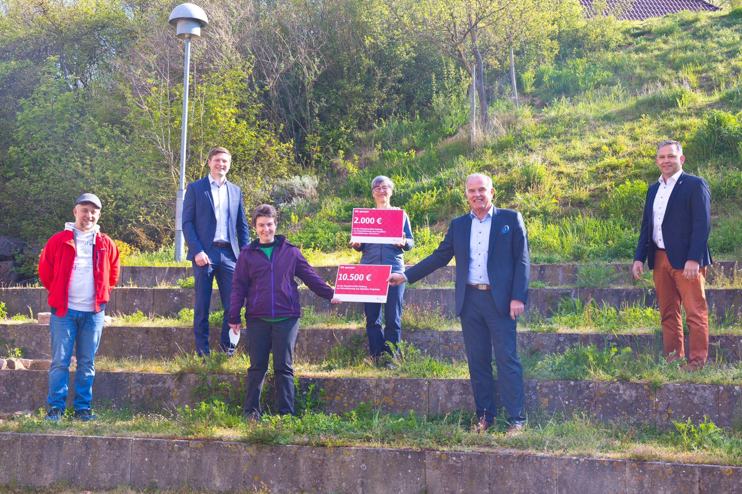 Heydenmühle erhält 12.500 Euro für die Umsetzung von Projekten